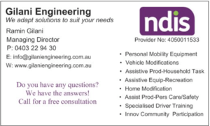 Gilani Engineering NDIS Provider