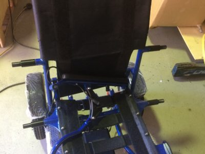 Foldable Electric Wheelchair Modification