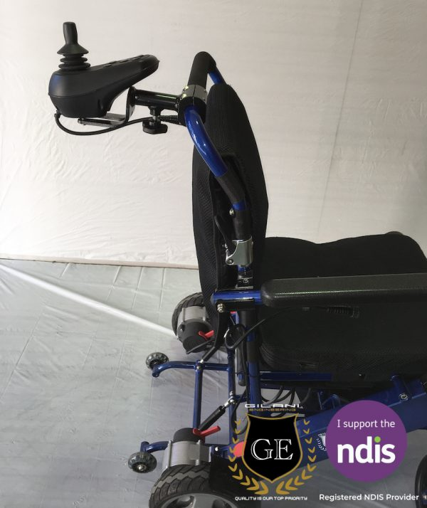 Light weight electric mobility wheelchair for old age persons with remote control panel