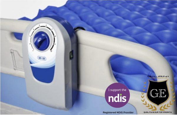 Air Overlay Mattress for Single bed Alternating Pressure Pump