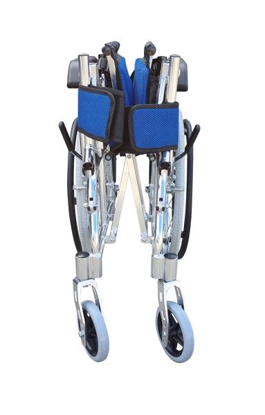 Foldable compact pushchair manual wheelchair