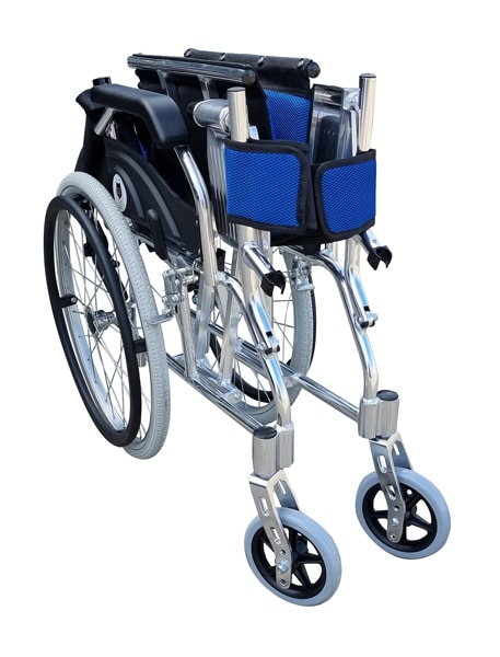 Lightweight foldable manual wheelchair