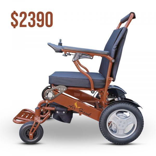 Lightweight, Foldable, Powerful, Heavy Duty Electric Wheelchair Air Hawk
