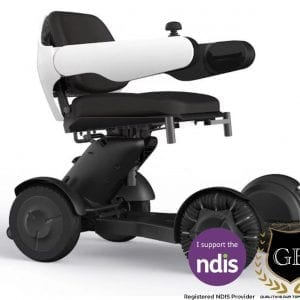 iGET1 All Terrain Modern Electric Wheelchair Scooter with Omnidirectional wheels