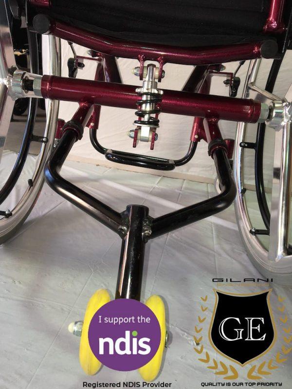 Light Weight Aluminium Self Propelled Foldable Wheelchair