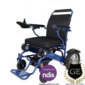 Powder Coated Heavy Duty Steel Wheelchair