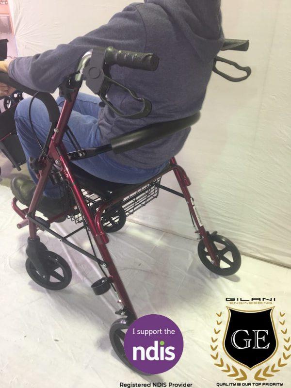 Practical & Durable Multipurpose Rollator