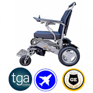 TGA Certified heavy duty compact foldable electric wheelchair lightweight chair