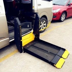 Wheelchair Accessible Vehicle Conversion