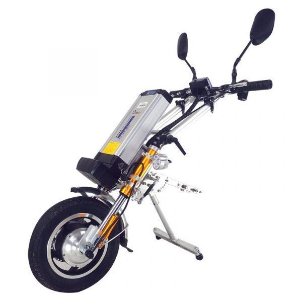 Attachable Electric wheelchair Handcycle GEWP-03 with Super Power Motor- For Sale- Gilani Engineering