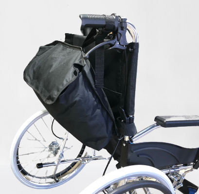 Backpack Storage for Wheelchairs