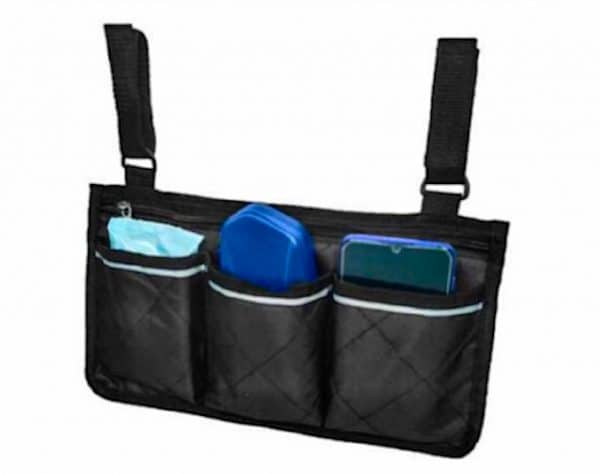 Side Multifunctional Armrest Organiser Bag for wheel chair