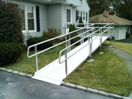 Non foldable Mobility Construction Ramp for Residential and commercial
