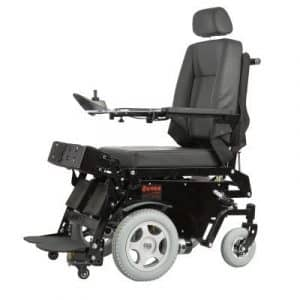 Standing Wheelchair Electric Mobility Aid with Back and foot rest