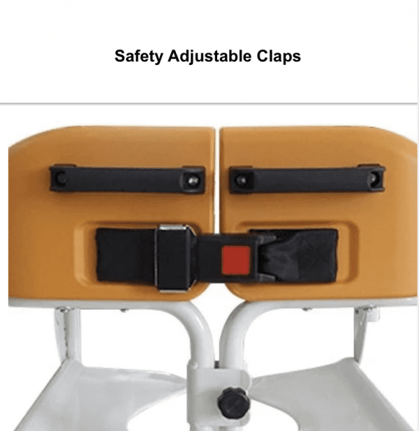 Safety adjustable claps