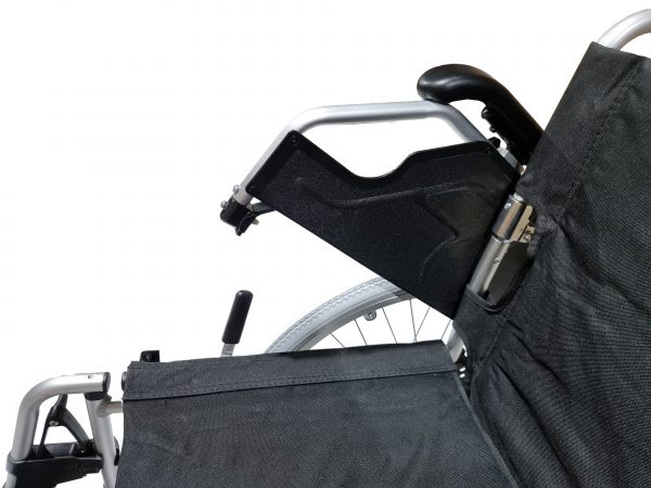 Foot plates for Foldable Heavy Duty Manual Wheelchair