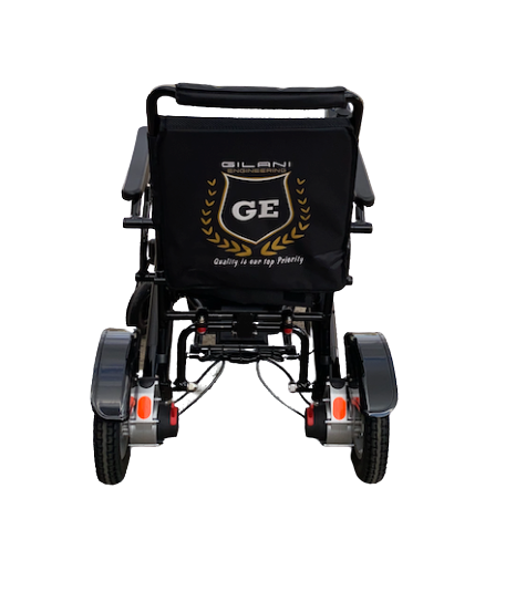 Wheelchair with suspension system