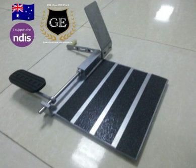 Left Foot Accelerator Pedal
