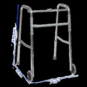 walking frame with wheels lightweight walker with wheels