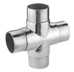 four ways pipe connector