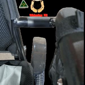 widening kit applied on wheelchair