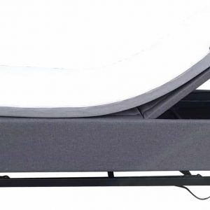 Gilani Engineering Charcoal Coloured Hi-Lo Electric Bed with 4 functions