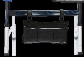 Wheelchair Side Multifunctional Armrest Organiser Bag Gilani Engineering-Small