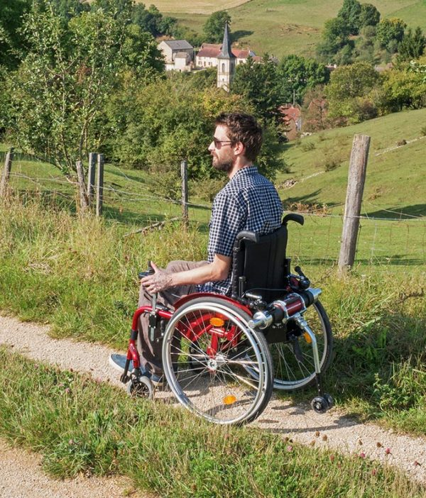 Motorized Wheelchair 12