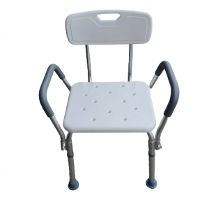 Shower Chair and Stool Back and head rest adjustable