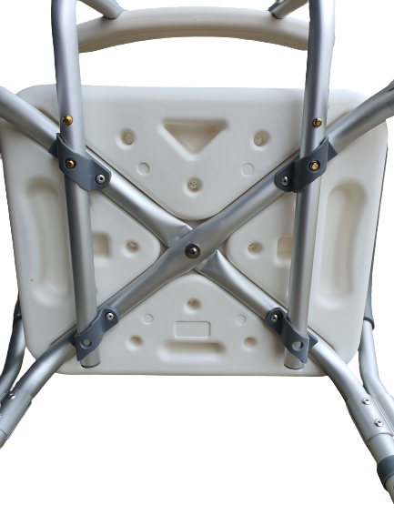 Shower Chair with Stool Back and head rest adjustable