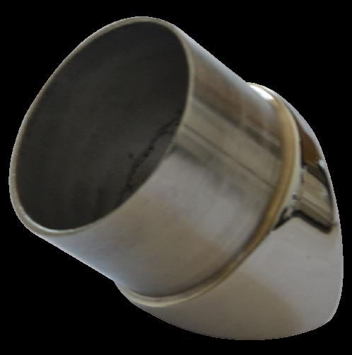 Adjustable 90 degree stainless steel glass mounted bracket