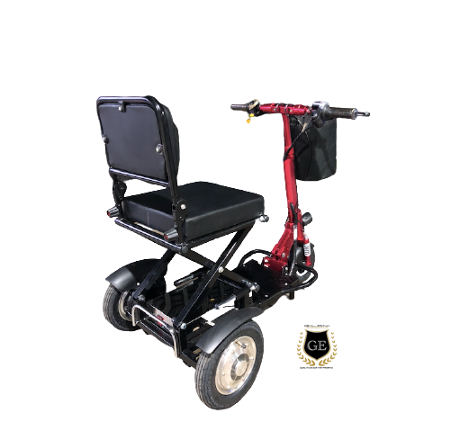 Mini Foldable Scooter Electric Tricycle With Spotlight