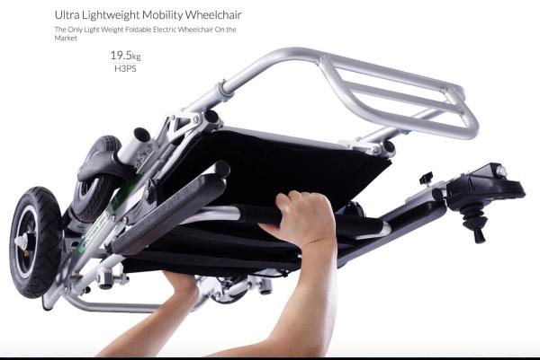 Airwheel Automatic Auto Folding Electric Wheelchair