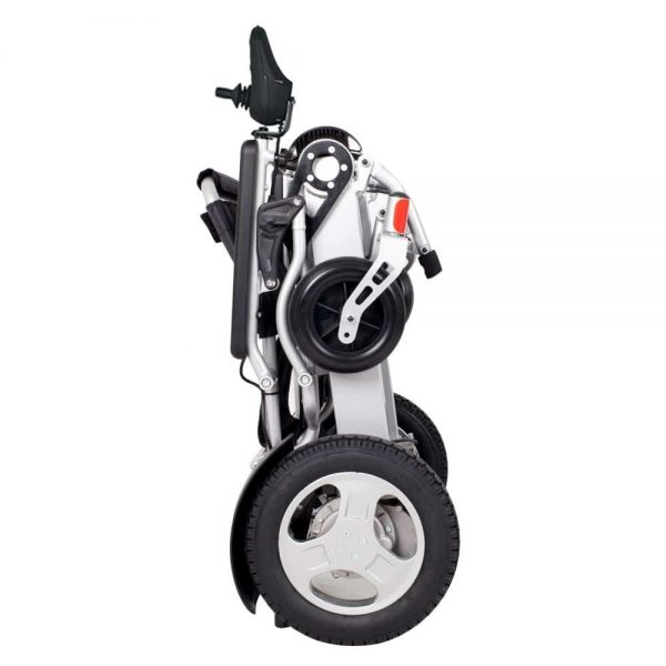 Compact Heavy Duty Light Weight Bariatric Foldable Electric Wheelchair