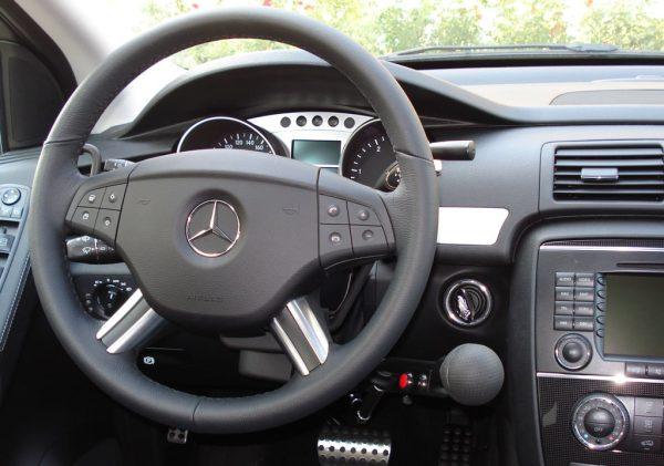 Handytech Horizontal push brake disability vehicle modification