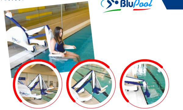 BluePool Portable pool lift Gilani Engineering