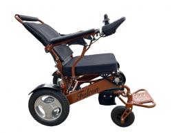 Light Folding Electric Wheelchair Unique Adjustable Backrest-FALCON