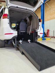 Kia Grand Carnival Disable car conversion ramp down side back