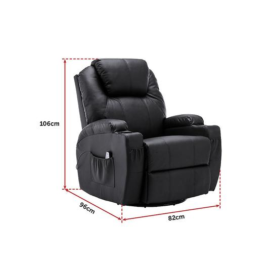 Recliner Lift Chair Sit and Stand Up With Massage and Heat Options Monte Carlo 16