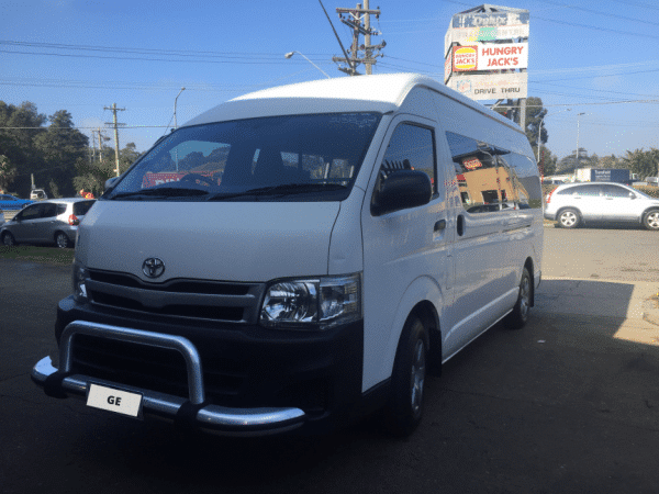 Wheelchair Disability Accessible Toyota Hiace Vehicle Conversion
