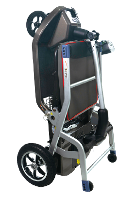Lightweight foldable electric wheelchair