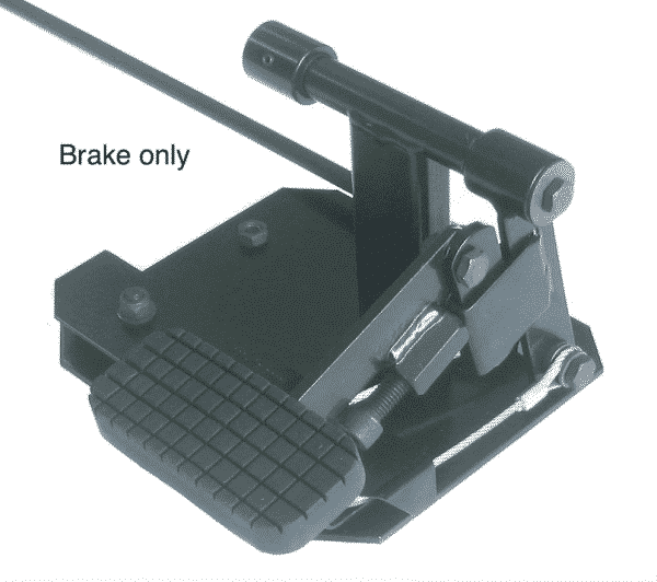 Dual Controls For Driving School Instructor Passenger Pedals - Brake only
