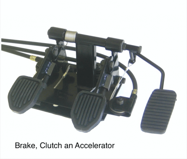 Dual Controls For Driving School Instructor Passenger Pedals- Brake, Clutch and Accelerator