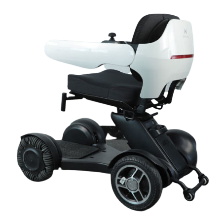 Electric Wheelchair Scooter With Unique Omnidirectional Wheels IGET1 14