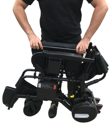 Light Foldable Portable Powered Top-Quality Mobility Wheelchair