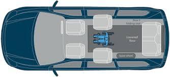 Honda Odyssey Third Row Rear Wheelchair Access Vehicle Modification