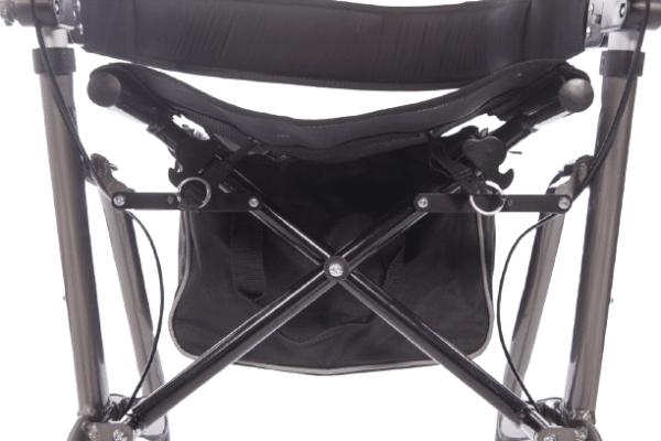 Bag for Deluxe 4 wheel rollator frame