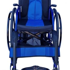 designed leisure Manual wheelchair with attendant hand brakes and removable wheels
