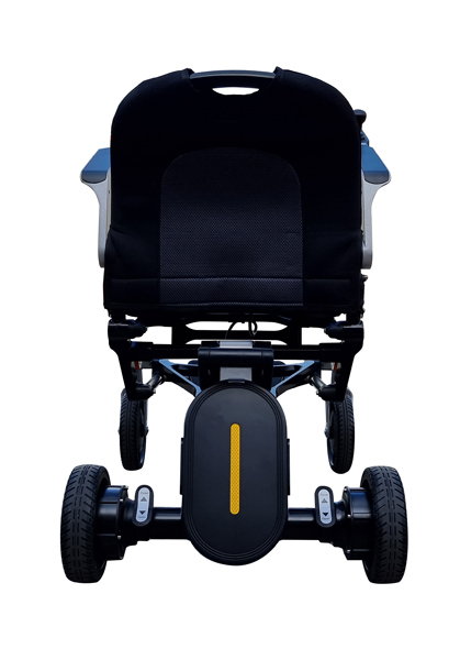 The battery of the lightest electric wheelchair approved by NDIS and The Australian Standards