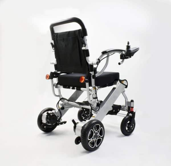 Foldable electric wheelchair compact lightweight